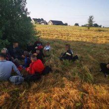 Praėjusią parą į Lietuvą neįleisti 55 neteisėti migrantai
