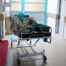 Į ligoninę dėl galvos traumos paguldytas iš Vilniaus senamiesčio atvežtas vyras