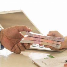 """Už neatsakingą skolinimą """"Credit Service"""" skirta 70 tūkst. eurų baudą"""