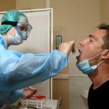 Per praėjusią parą šalyje nustatytas 2691 naujas koronaviruso atvejis, mirė dar 19 žmonių