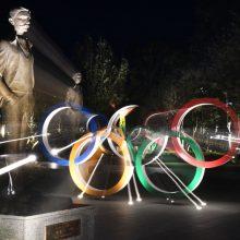 Tokijo gubernatorė: olimpiada negali būti atšaukta jokiomis aplinkybėmis