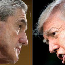 JAV specialaus tyrimo ataskaita: D. Trumpas norėjo atleisti R. Muellerį