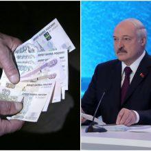 A. Lukašenka: pritariame bendram Baltarusijos ir Rusijos rubliui