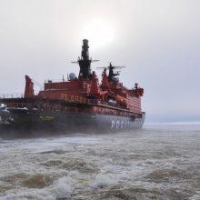 Rusija turės laivybą Arktyje ištisus metus užtikrinantį ledlaužių laivyną