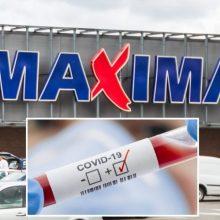 """Trims """"Maximos"""" darbuotojoms nustatytas koronavirusas, daugėja ir pasveikusiųjų"""