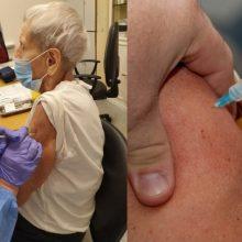 Kaip bus vykdomas vakcinacijos procesas šventinį savaitgalį Klaipėdoje?