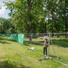 Vilniaus valdžia po kritikos stabdo Sapiegų parko projektą