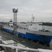 Rusija jūrų keltais siekia aplenkti ir Lietuvą, ir Lenkiją