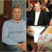 Savo pajamas atskleidęs A. Šedžius: 1 tūkst. eurų vaiko išlaikymui – absurdas!