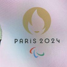 Pristatytas 2024 metų Olimpiados logotipas, vaizduojantis auksinę Marianą