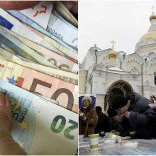 """Rusijos gyventojų laimės """"kaina"""" – 2,2 tūkst. eurų per mėnesį"""