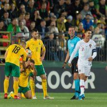 Naujajame FIFA reitinge Lietuvos rinktinei – 131-oji vieta