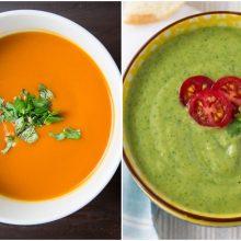 Karštą dieną nustebinkite savo šeimą ir draugus netradiciniais šaltų sriubų receptais