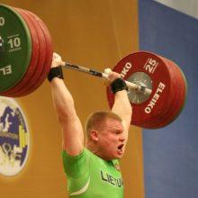 Pasaulio sunkiosios atletikos čempionate – penki lietuviai