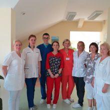 Slaugos ligoninėje – užsieniečių praktika
