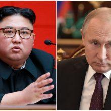Šiaurės Korėjos lyderis balandžio pabaigoje apsilankys Rusijoje
