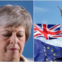 """Londone žlugo vyriausybės derybos su opozicija dėl """"Brexit"""""""