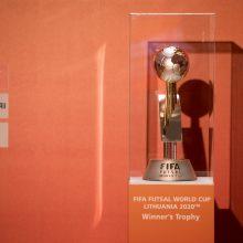 Pasaulio salės futbolo čempionatas Lietuvoje nukeltas į 2021 metus