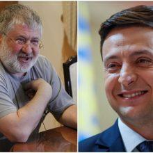 V. Zelenskiui tapus Ukrainos prezidentu, į šalį grįžtų oligarchas I. Kolomoiskis?