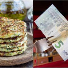 Vakarienė keturiems už 3, 4, 5 eurus: misija – įmanoma (receptai)