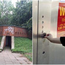 Smiltynės viešųjų tualetų laukia atnaujinimas