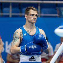Nedaug trūko: Europos žaidynės boksininkui E. Skurdeliui baigėsi aštuntfinalyje