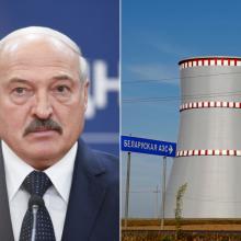 A. Lukašenka atskleidė, kada Astravo AE pradės darbą