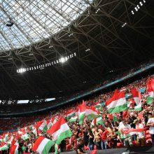 Vengrijos stadionai nušvis nacionalinės vėliavos spalvomis