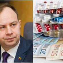 A. Veryga: valstybės išlaidos vaistams ateityje ne mažės, o augs