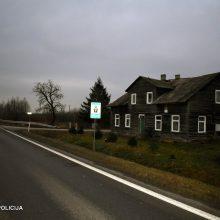 Tragiška nelaimė Vilkaviškio rajone: žuvo vilkiko partrenktas pėstysis