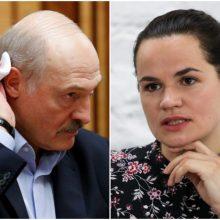 S. Cichanouskaja: A. Lukašenka išvengs teismo, jei savanoriškai atsistatydins