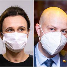 Po naujų COVID-19 atvejų A. Veryga kreipėsi į valdančiuosius: turite stabdyti Seimo darbą