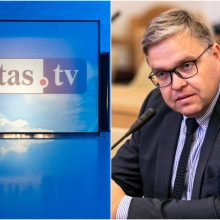 """""""Lietuvos ryto"""" televizija turės sumokėti tūkstantinę baudą V. Vasiliauskui"""