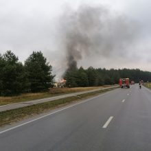 Atskleidė, kas vyko sprogus dujų stotelėms: ugniagesiams grėsė didžiulis pavojus