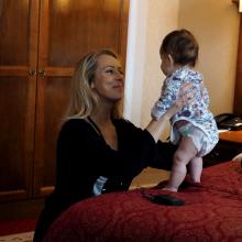 Antrą kartą mama tapusi I. Stasiulytė: motinystė man yra visiškas atsipalaidavimas