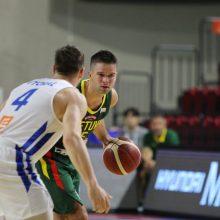 Pergalingas čempionato pasirengimo finišas: Lietuvos rinktinė įveikė Čekiją