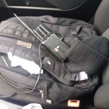 Trečiąkart įkliuvęs kontrabandininkas iš Mažeikių ir vėl turėjo ryšio blokavimo įrangą