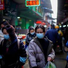 Kinijos miestuose pradėta masinė milijonų gyventojų tyrimo nuo COVID-19 programa