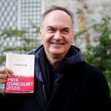 Prestižinis Prancūzijos literatūros apdovanojimas atiteko futuristiniam trileriui