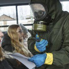 Rusijoje – per 5,6 tūkst. naujų COVID-19 atvejų, 132 žmonės mirė