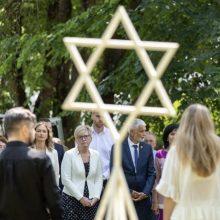 I. Šimonytė Holokausto minėjime ragino priešintis žmogiškumo erozijai