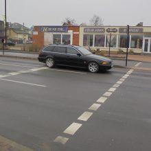 Alytuje BMW automobilis partrenkė pėsčiąją: ieškomi įvykio liudininkai