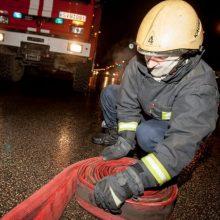 Nelaimė Panevėžyje: paryčiais kilo gaisras gyvenamajame name
