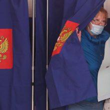 Rusijos valdančioji partija išlaikys daugumą Valstybės Dūmoje
