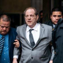 H. Weinsteinas pasiekė 25 mln. dolerių susitarimą civilinėje byloje