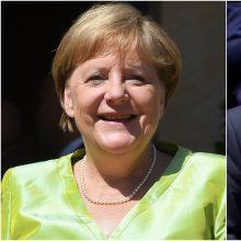 A. Merkel pakvietė B. Johnsoną apsilankyti Berlyne
