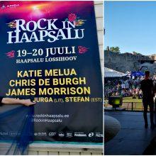 Atlikėja Jurga: trys koncertai trijose Baltijos šalyse