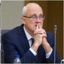 Lietuvos bankas ketina skųsti Seimo etikos sargų sprendimą dėl S. Jakeliūno