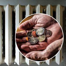 Ministrė: sunkiausiai gyvenantiems šildymo išlaidos bus kompensuojamos