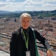 Pašaukimas: menotyrininkė R.Abaravičiūtė jau vienuolika metų dirba Toskanos regiono gide.